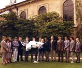 1986 Wedding weightlifter guests