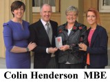 Colin Henderson MBE