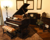 Steinway Player Piano at the Wrigley Mansion