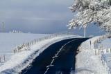 La Bourboule sous la neige