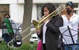 2021_02_26 Agrupaction Musical La Sonora Santa Cecilia in Plaza de Cayma