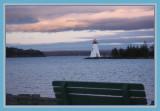 Evening Coming On Baddeck Bay