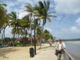 Claude at Manzanilla Beach