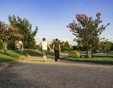 The walking trail