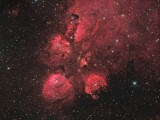 NGC 6334 - Cat's Paw Nebula in Scorpius