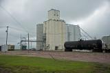 Friend, Nebraska Concrete Grain Elevator.