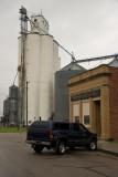 Cordova, Nebraska Concrete Grain Elevator.
