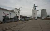 Exeter, Nebraska Concrete Grain Elevator.