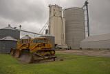 McCool Junction, Nebraska Concrete Grain Elevator.