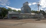Lester, Iowa Old Grain Elevator.