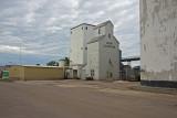 Rock Rapids, Iowa Older Wood Grain Elevator.