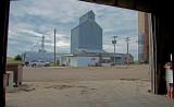 Allendorf, Iowa Old Wood Grain Elevator.