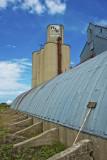 Allendorf, Iowa Grain Elevators.