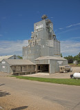 Ocheyedan, Iowa old wood grain elevator.
