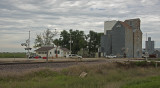 Ritter, Iowa Grain Elevators.