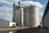 Blencoe, Iowa Concrete Grain Elevator.