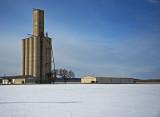 Swamp Angel, Kansas Concrete Grain Elevator.