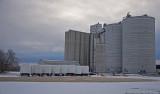 Junction City, Kansas Concrete Grain Elevator.