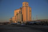 Herington, Kansas Concrete Grain Elevator.