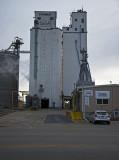 Beloit, Kansas Concrete Grain Elevators.