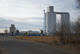 Solomon Rapids, Kansas Grain Elevators.