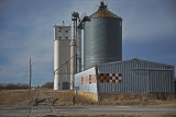 Cornith, Kanas Concrete Grain Elevator.