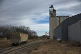 Cawker, City, Kansas Concrete Grain Elevator.