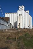 Caldwell  Kansas Concrete Grain  Elevators.