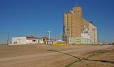 Riverdale, Kansas Concrete Grain Elevator.