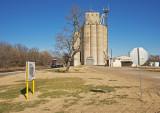 Rome, Kansas Concrete Grain Elevators.