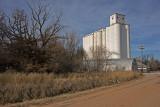 Corwin, Kansas Concrete Grain Elevator.