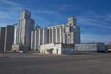 Valley Center, Kansas Concrete Grain Elevators.