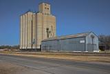 North Newton, Kansas Concrete Grain Elevator.
