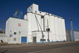 Grainfield, Kansas Concrete Grain Elevator.