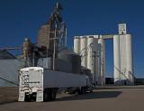 Grinnell, Kansas Concrete Grain Elevator.