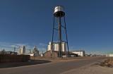 Grinnell, Kansas concrete Grain Elevators.