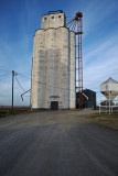 Goltry, Oklahoma Concrete Grain Elevator.