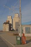 Goltry, Oklahoma Concrete Grain Elevators.