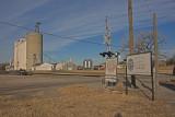 Helena, Oklahoma Concrete Grain Elevator.-South Side.