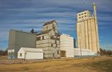 Carmen, Oklahoma Grain Elevators.