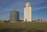 Aline, Oklahoma Concrete Grain Elevator.
