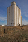 Orienta, Oklahoma Concrete Grain Elevator.