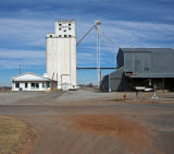 Fairview, Oklahoma Concrete Grain Elevator.