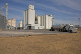 Okeene, Oklahoma grain elevators and feed mill.
