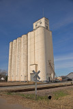 Okeene, Oklahoma Concrete Grain Elevator.