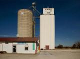 Ringwood, Oklahoma Concrete Grain Elevator.
