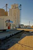 Lahoma, Oklahoma Concrete Grain Elevator.