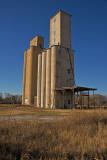 Kingfisher, Oklahoma Concrete Grain Elevators.
