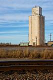 Avada, Oklahoma Concrete Grain Elevators.