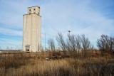 Avard, Oklahoma Concrete Grain Elevator.